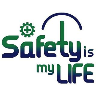 logo safety is my life PNG