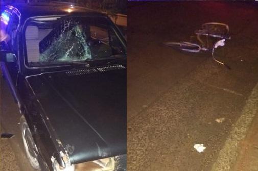 Automovilista Atropelló y mató a un ciclista