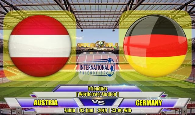 Prediksi Austria vs Jerman 02 Juni 2018