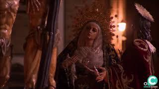 Vídeo del Cristo del Perdón subiendo la rampa de la Catedral en la Semana Santa Cádiz 2019