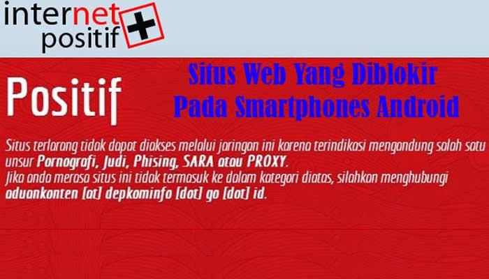 Cara Mengatasi Situs Web Yang Diblokir Pada Smartphones Android