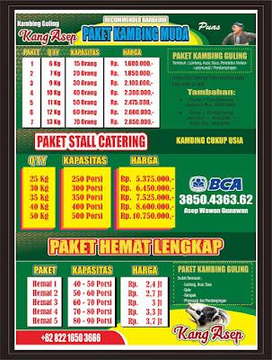 harga kambing guling,Harga Catering Kambing Guling di Lembang,