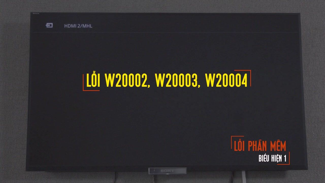 Khắc phục lỗi W20002 / W20003 / W20004 trên truyền hình Viettel