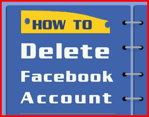 how to delete cancel facebook account