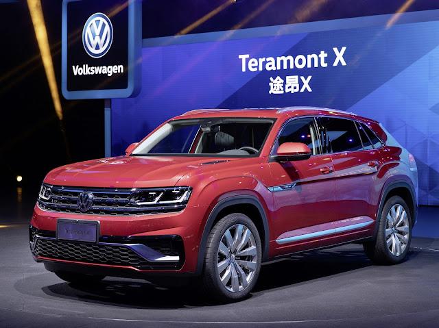VW Teramont X - Brasil