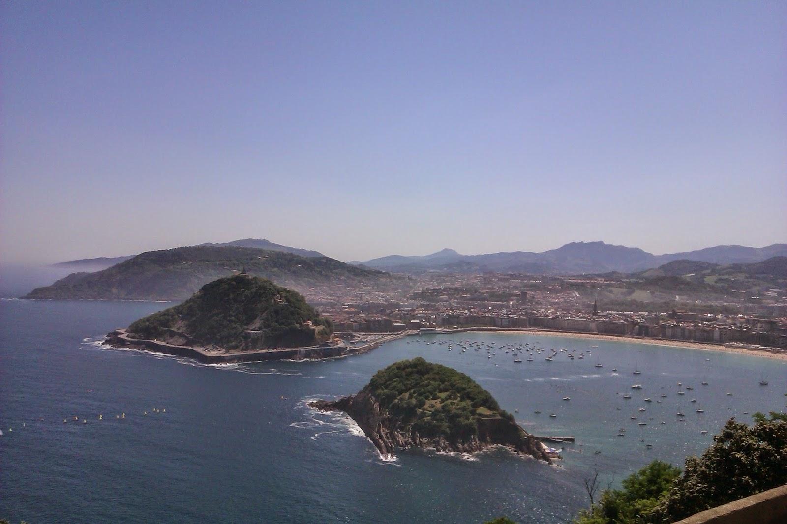 La Concha desde el Monte Igueldo