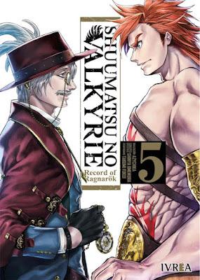 Review de Shuumatsu no Valkyrie vols 5 y 6  de Shinya Umemura y Takumi Fukui, Ivréa.