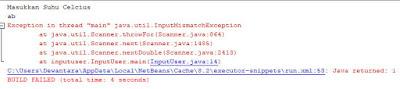 error salah memasukkan data