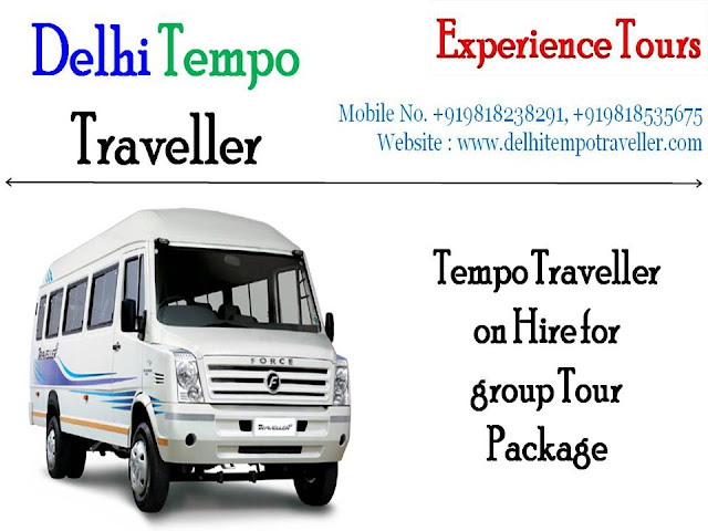 Modified and Luxurious Tempo Traveller on Rent in Delhi for Outstation Trip