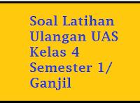 Contoh Soal UAS IPA Kelas 4 Semester 1/ Ganjil