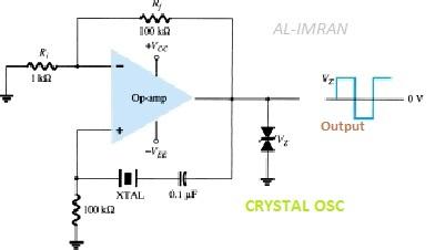 electronics idea crystal oscillator using op amp Op-Amp Phase Shifter Op-Amp Applications