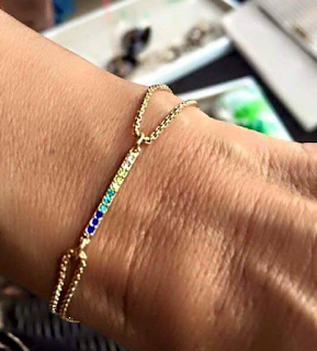 Stella & Dot Harmony Bracelet - Autism Awareness, April 2016