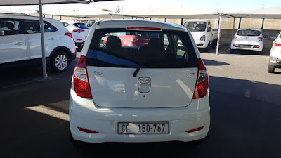 Used Car for sale in Cape Town - 2013 Hyundai i10 - 1.25 AUTOMATIC in white