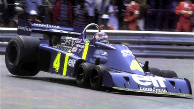 Tyrell P34 1970s F1 car