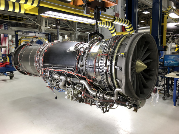 The F414-GE-100 engine for NASA's X-59 QueSST aircraft underwent testing at GE Aviation in Lynn, Massachusetts...prior to the engine's delivery to Armstrong Flight Research Center in California.