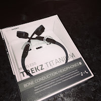 new in box set of Trekz Titanium Headphones