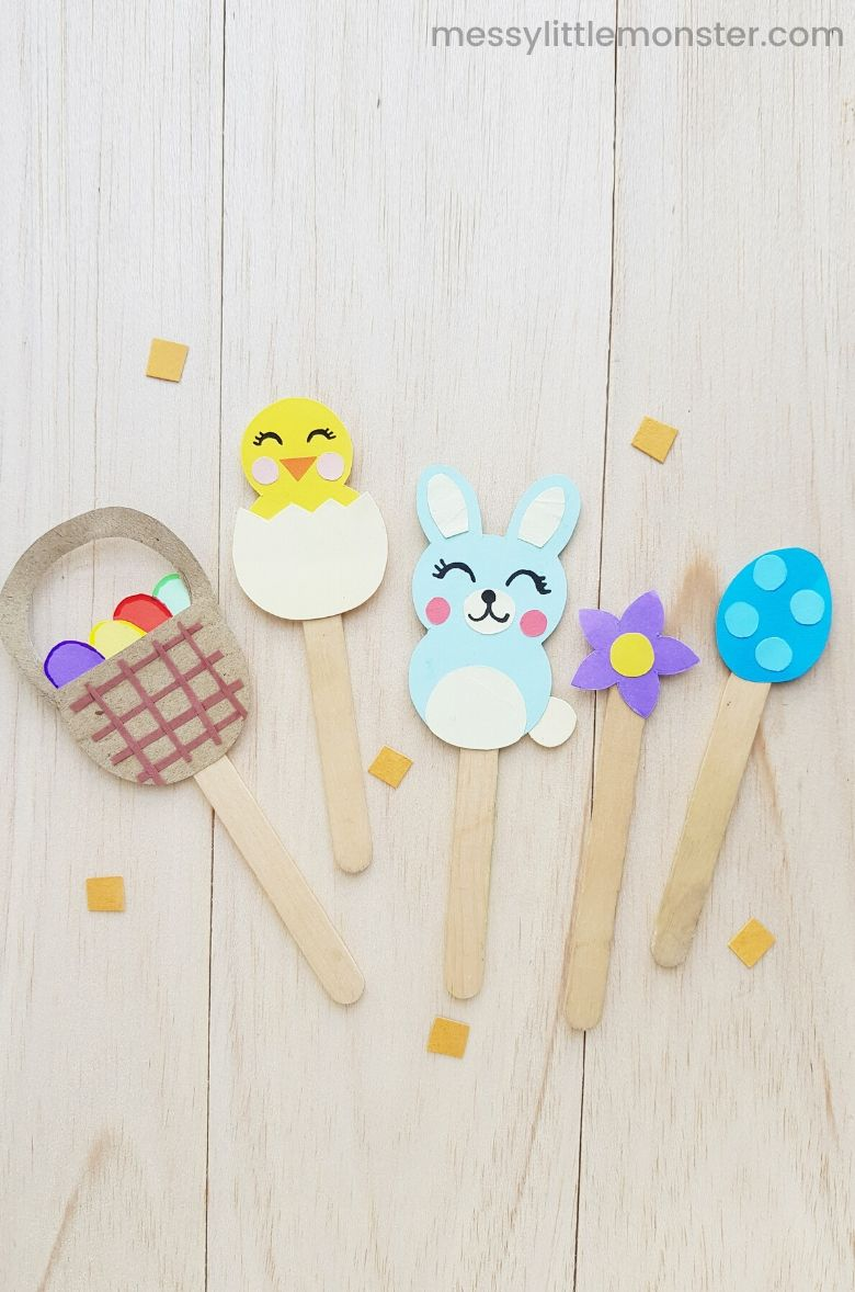 Easter stick puppet craft