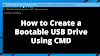 How to Create a Bootable USB Drive Using CMD (Without Using Any Software)