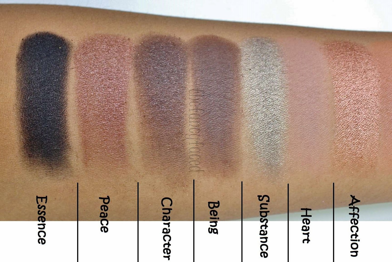 The Fancy Face: SWATCHES | Stila Cosmetics Eyes Are The Window ...