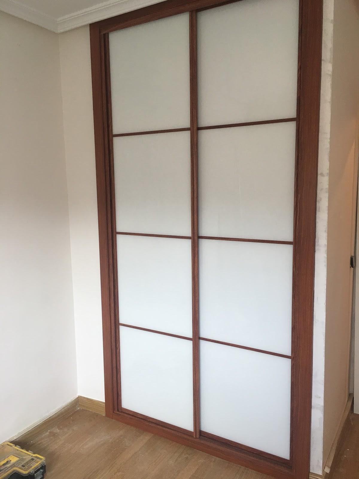 Armarios Empotrados Karpinteria Puertas Armarios Y Tarimas  ~ Precio Puerta Lacada Blanca Instalada