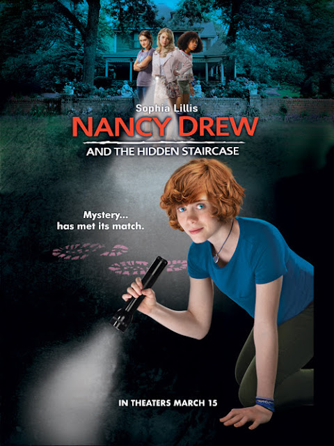 Sophia Lillis is  #NancyDrew in #TheHiddenStaircase #movie #giveaway #ad