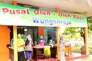 Pusat oleh-oleh khas Wongsorejo