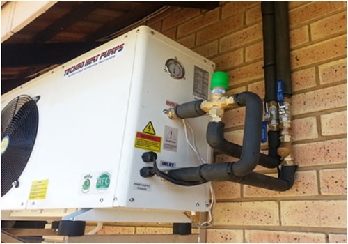 Energy efficiency and heat pumps work process