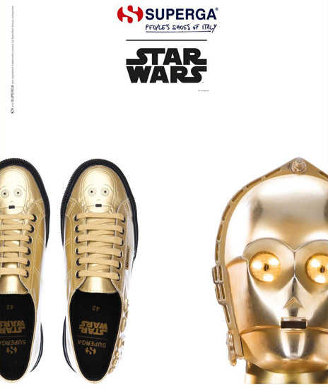 zapatillas C3PO Superga Star Wars