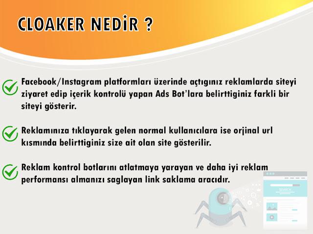 cloaker,adwords cloaker,facebook cloaker,cloaker sistemi,ücretli cloaker