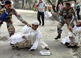 بورما نازية ضد المسلمين