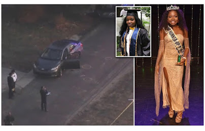 Nigerian Beauty Queen Najeebat Sule 'Najee' Shot Dead In The U.S (Photos)