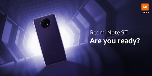 Xiaomi confirms Redmi Note 9T launch date - it is January 8.