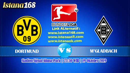 Prediksi Bola Akurat Istana168 Borussia Dortmund vs Borussia M'gladbach 19 September 2020