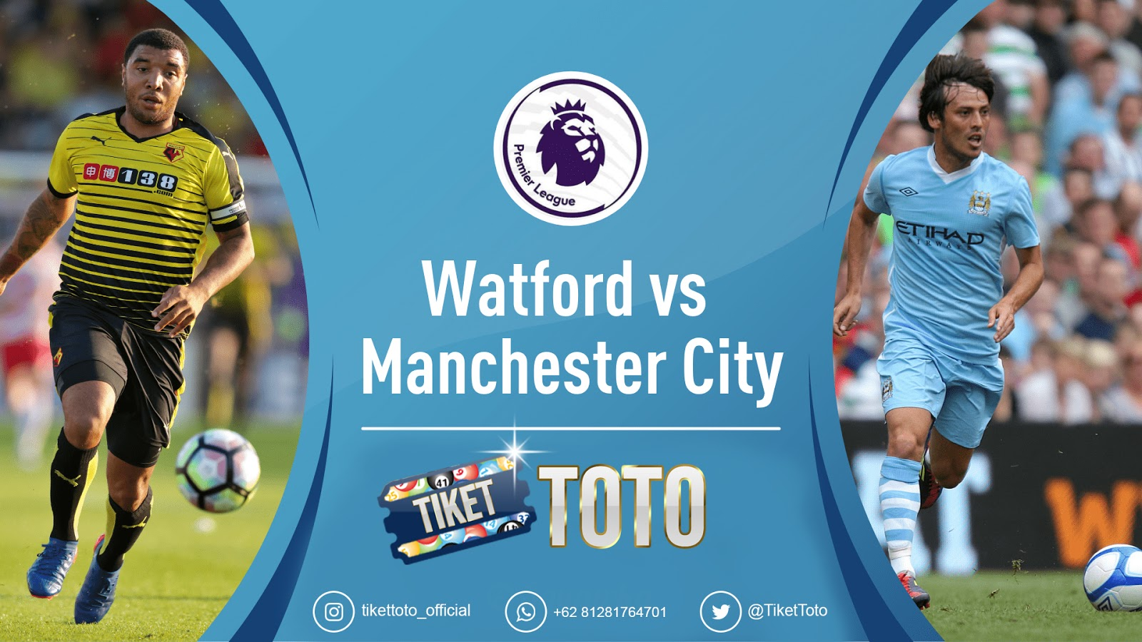 Watford Vs Man City: Citizens Menang Telak 4-0