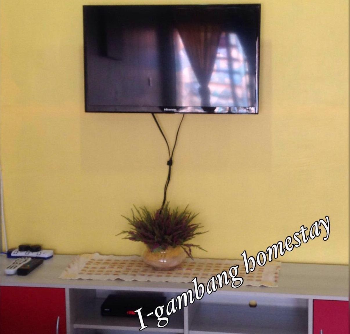 Tv Plasma Yang Disediakan Di I Gambang Homestay