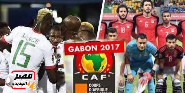 موعد مباراة مصر وبرقينا فاسو اليوم الأربعاء ١/٢/٢٠١٧ في الدور قبل النهائي من بطولة كأس أمم أفريقيا الجابون٢٠١٧
