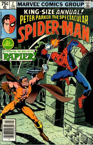 Spectacular Spider-Man King-Size Annual #2, the Rapier