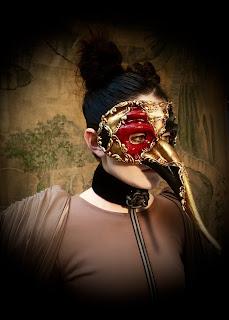Zanni Musica Masquerade Mask