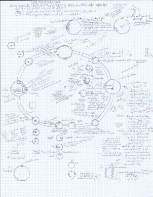 Bill Silvey's Castle Greyhawk - PC map by Allan Grohe