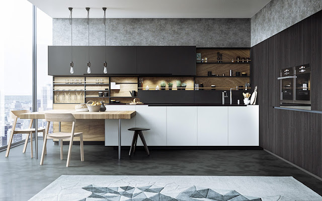 Top trends for minimalist kitchen design and style 2018 for Minimalist design style