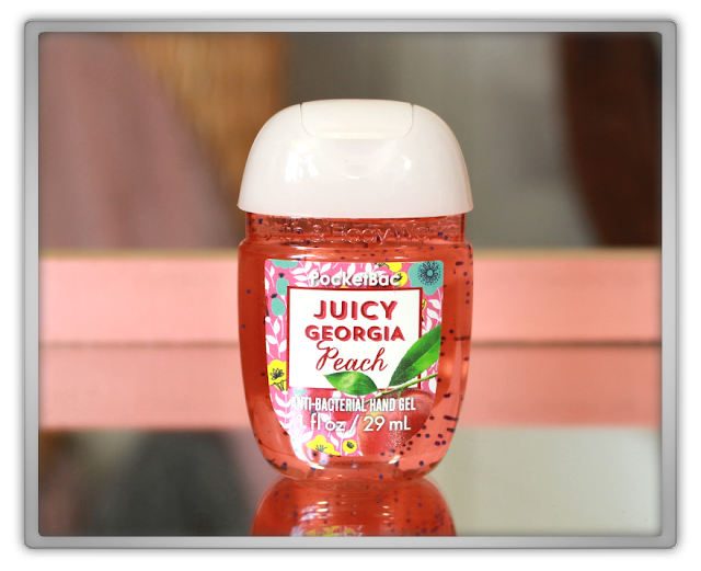 Bath and Body Works Summer Haul Review beauty girly fruity pocketbac anti bacterial hand gel Juicy georgia peach beauty blog blogger