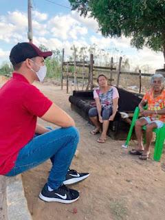 GUARABIRA! Vereador Ramon Menezes visita comunidades e ouve demandas de moradores