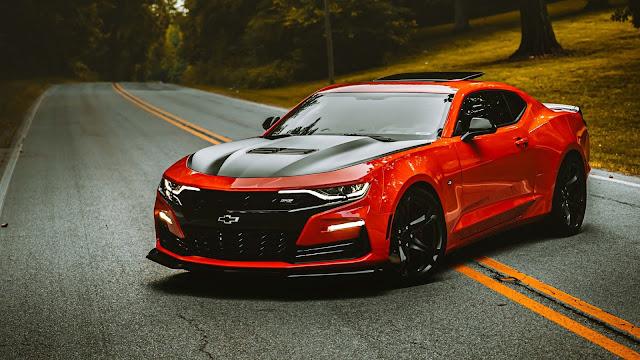 Papel de Parede Chevrolet Camaro Tunado