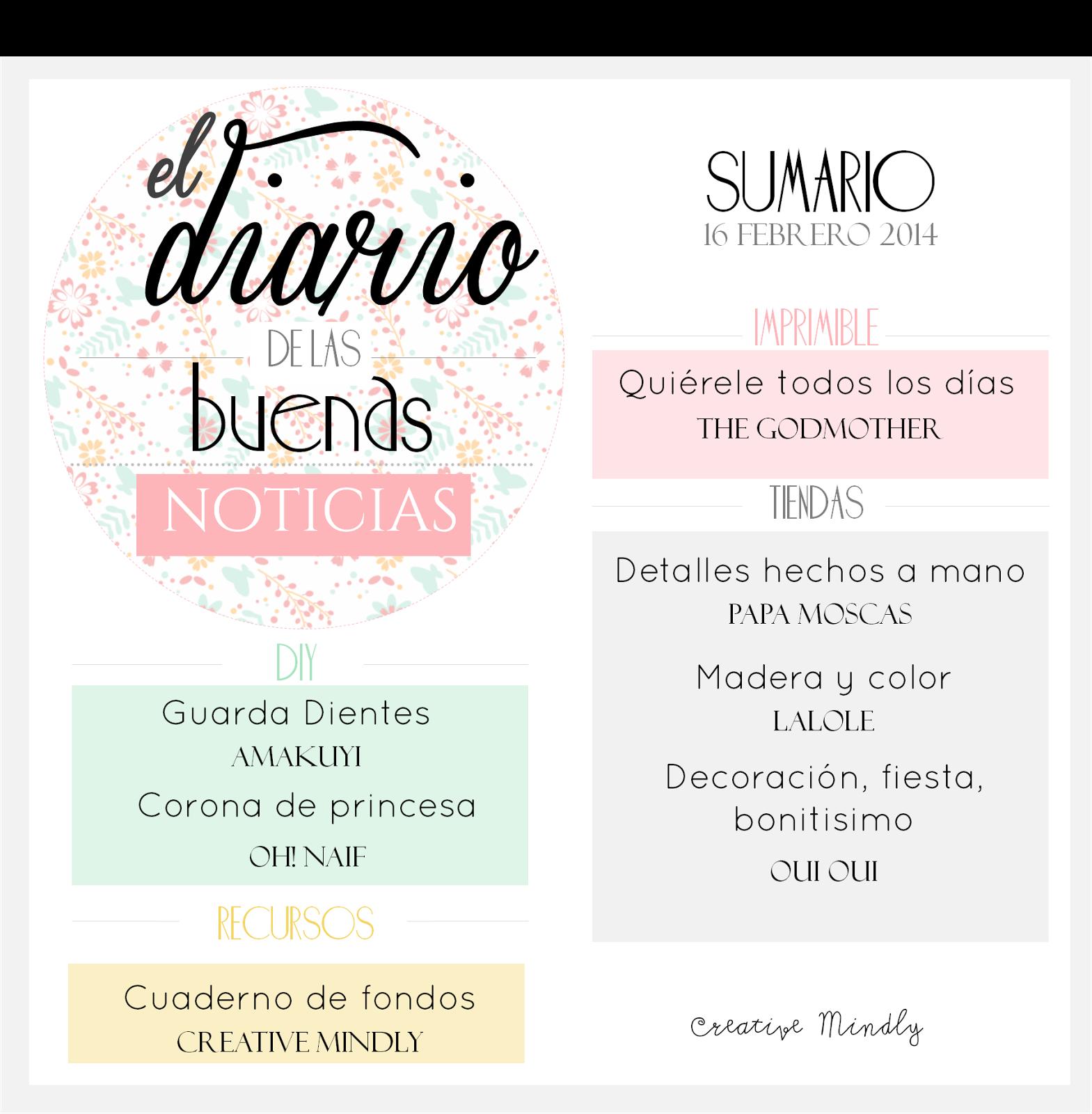 Coronas Para Decorar Cuadernos.Creative Mindly El Diario De Las Buenas Noticias Xxxiii