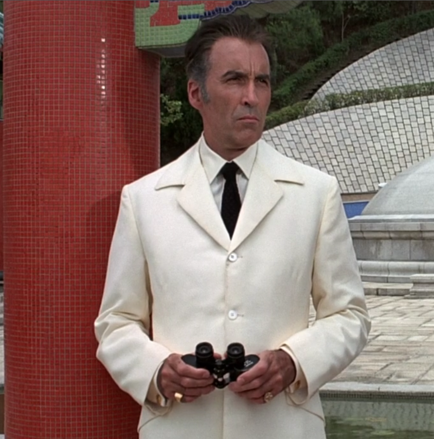 Scaramanga The White Suit The Suits Of James Bond