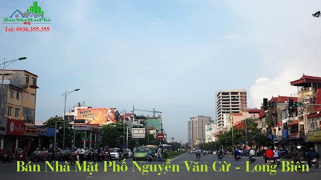 chính chủ bán nhà mặt phố Nguyễn Văn Cừ