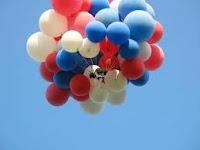 Balon pelepasan Tanpa Banner