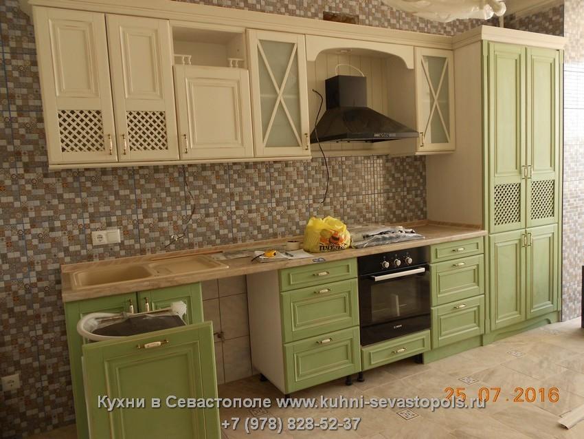 Деревянная кухня в интерьере фото Севастополь