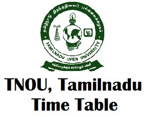 Tamil Nadu Open University Exam Timetable 2017