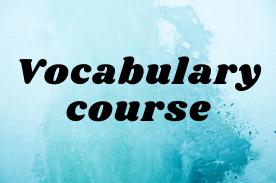 vocabulary course | online vocabulary classes
